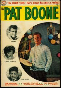 Pat Boone #3 1960- DC Comics- Fabian- Paul Anka- Connie Francis VG
