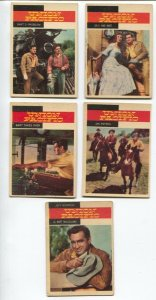 Union Pacific Western TV Series Trading Card Set 1958-Jeff Morrow