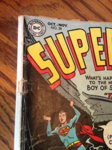 Superboy 28 GD (DC October, 1953) Golden Age