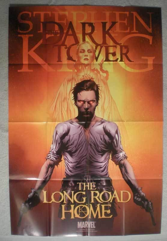 STEPHEN KING DARK TOWER Promo Poster, 24x36, Unused, more Promos in store
