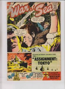 War At Sea #36 FN june 1960 - charlton comics - silver age - assignment: tokyo