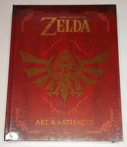 Legend Of Zelda Art & Artifacts Hardcover (New/Sealed)