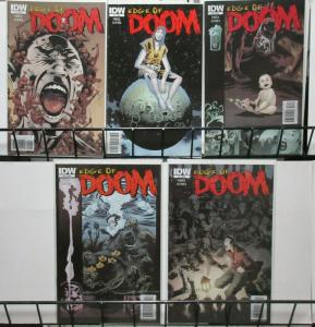 Edge of Doom (IDW 2010) #1-5 Horror by Steve Niles and Kelley Jones