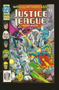 DC Comics Justice League America #64 July (1992)