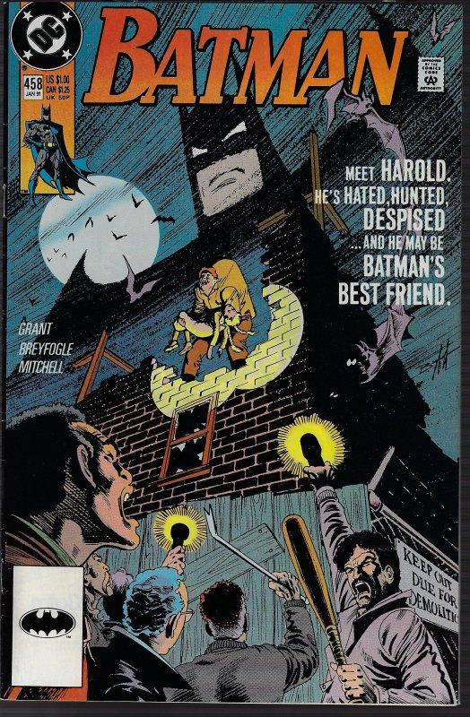 Batman #458 (DC, 1991) NM