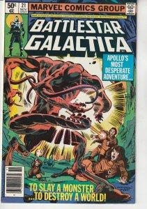 Battlestar Galactica(Marvel) # 21 Beauty and The Beast