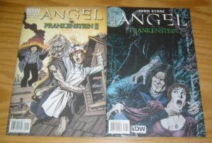 Angel vs Frankenstein #1-2 VF/NM complete series - john byrne - buffy spinoff II