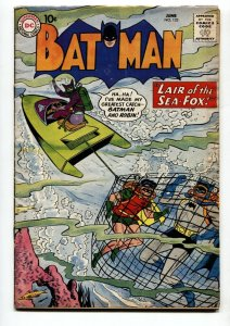 Batman #132 Robin - Scuba cover- Sea Fox DC Silver Age 1960 VG+