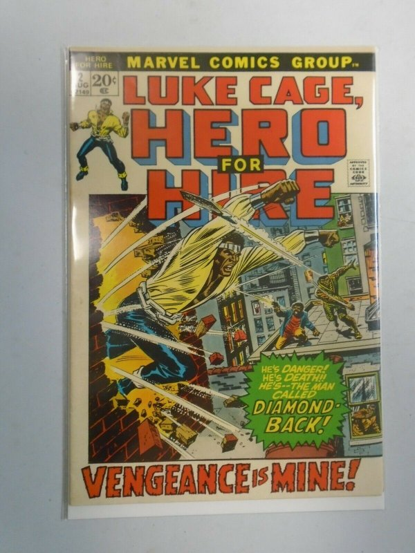 Power Man and Iron Fist #2 Luke Cage 6.0 FN (1972 Hero for Hire)