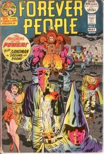 FOREVER PEOPLE 8 VG    May 1972 COMICS BOOK