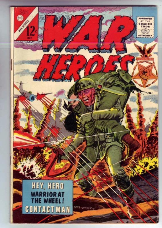 War Heroes #13 (May-65) VG/FN Mid-Grade Marines
