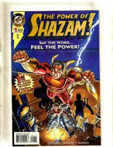 11 The Power of Shazam! DC Comics Comic Books #1 2 3 4 5 6 7 8 9 10 11 J369