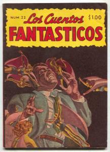 Los Cuentos Fantasticos #22 1949- Mexican Pulp- Finlay