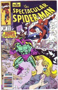 Spider-Man, Peter Parker Spectacular #164 (Jul-90) NM/NM- High-Grade Spider-Man