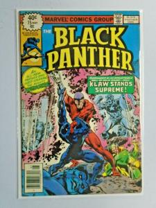 Black Panther #15 last issue 1st Series 6.0 FN (1979)