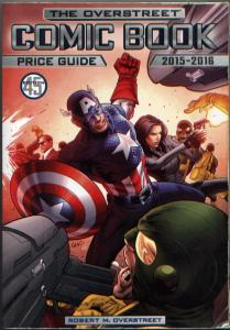 OVERSTREET Comic Book Price Guide Volume 45 (2015) Captain America