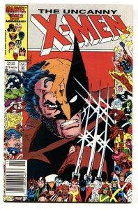 X-MEN #211 1986-MARVEL-HIGH GRADE VF/NM