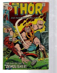 Mighty Thor # 192 FN Marvel Comic Book Loki Odin Asgard Sif Avengers Hulk RB8