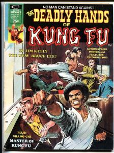 The Deadly Hands of Kung Fu #3- Bruce Lee-Jim Kelly- Neal Adams- Shang-chi VG/FN