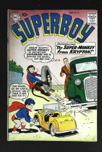 Superboy (1949 series) #76, VG+ (Actual scan)