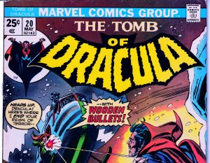 Tomb of Dracula(vol. 1) # 20  Death from the Sky !