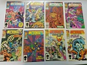 Micronauts The New Voyages Comic Lot Set #1-20 Average 8.5 VF+ (1984)