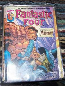 FANTASTIC FOUR #41  vol 3 2001 marvel    1st hellscout apperance