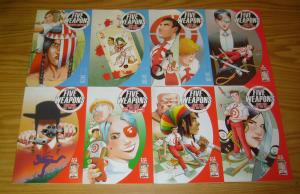 Five Weapons #1-10 VF/NM complete series + variant - jimmie robinson - image set