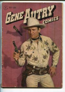 GENE AUTRY #7-1947-DELL-WESTERN-PHOTO COVERS-MOVIE-TV-vg minus