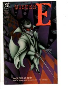 Lot Of 4 Mister E DC Comic Books # 1 2 3 4 Complete Mini Series CR16