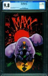 THE MAXX #1 CGC 9.8 1st issue - IMAGE COMICS - 2021119011