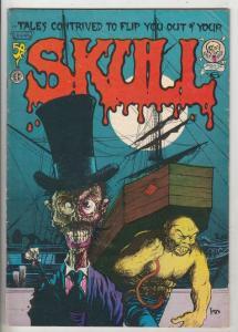 Skull #6 (Jan-72) FN- High-Grade