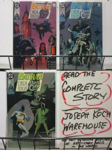 BATMAN 452-454  Dark Knight, Dark City Complete Story