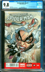 Amazing Spider-Man #3 CGC Graded 9.8 Electro & Black Cat appearance