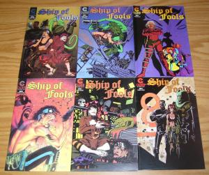 Ship of Fools #1-5 VF/NM complete series + special - michael avon oeming - scifi