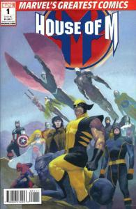 House of M #1 (2nd) VF/NM; Marvel   save on shipping - details inside