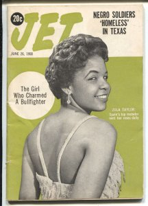 Jet  6/26/1958-Zola Taylor-African-American culture-Negro Soldiers-VG