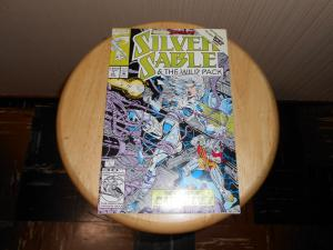 Silver Sable and the Wild Pack (1992) #7 Dec 1992 Cover price $1.25