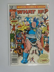 What If? #34 Newsstand edition 8.5 VF+ (1982 1st Series)