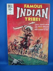 Famous Indian Tribes #2 (Jul 1972, Dell) VF NM The Sioux Tribe