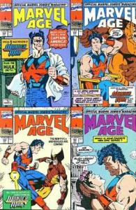 Marvel Age #103, VF (Stock photo)