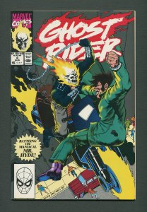Ghost Rider #4 / 9.2 NM- /  August 1990