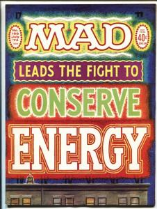 MAD Magazine #168-1974-Ricard-Torres-Drucker-HIGH GRADE