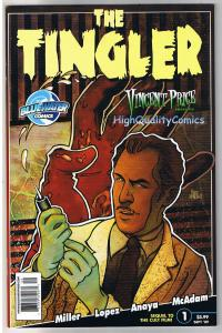 VINCENT PRICE TINGLERS #1, NM, Horror, Alex Lopez, 2009, more in our store