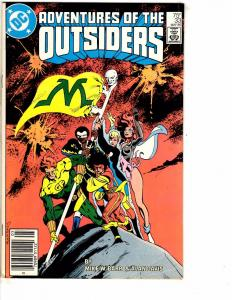 Lot Of 6 Outsiders DC Comic Books # 33 34 35 36 46 + Special # 1 Batman J214