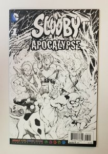 Scooby Apocalypse #1 Adult Coloring Book Variant Cover NM DC Comics 2016