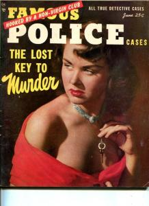 MASTER DETECTIVE-JUNE 1952-G-MURDER-SPICY -EXTORTION-TERROR-SEX CLUBS G