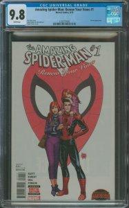 Amazing Spider-Man: Renew Your Vows #1 CGC Graded 9.8 Venom Appearance