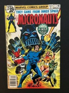 MARVEL THE MICRONAUTS FIRST ISSUE #1 FINE/VERY FINE 1978 (A181)