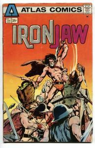 Iron Jaw #1 1975-NEAL ADAMS ART-Atlas Seaboard VG